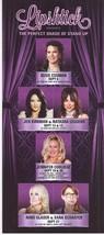 LIPSHTICK presents JENNIFER COOLIDGE @ The Venetian Las Vegas Promo Card - $1.95