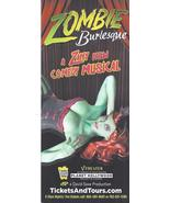 ZOMBIE Burlesque Comedy Musical @ PLANET HOLLEYWOOD Hotel Las Vegas Prom... - $1.95