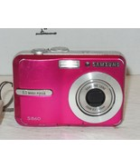 Samsung Digimax S860 8.1MP Digital Camera - Pink - $49.50