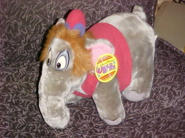 "13"" Disney ABU Elephant Plush Toy With Tags From Aladdin World On Ice - $93.49"