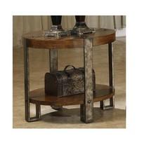 Round End Table Living Room Vintage Wooden Furn... - $339.56
