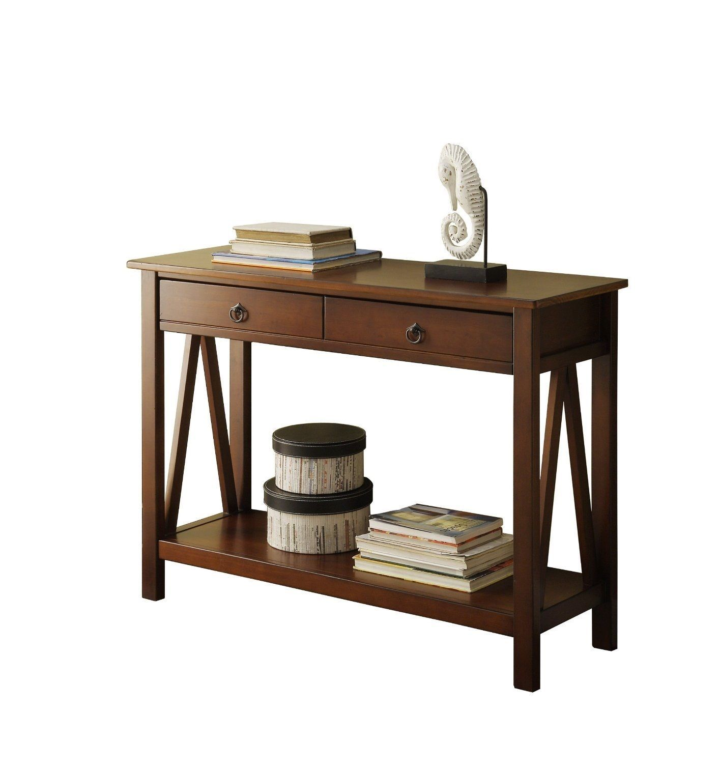 Home classic console table antique modern style decor for Modern decorative table accents