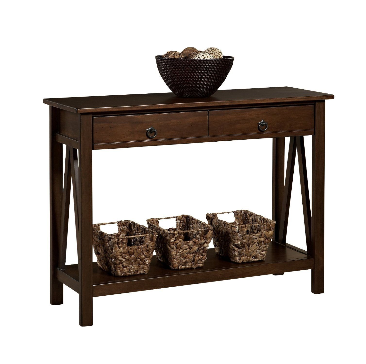 Home classic console table antique modern style decor Console tables with storage
