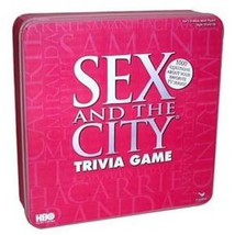 HBO Sex in the City Trivia Game Pink Tin  BEACH HOSTESS YOU GIFT NEW SEALED - $31.99