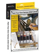 Art 101 Famous Artist Canvas Collection - The Scream  - $21.99