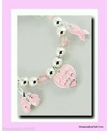 Bracelet Breast Cancer Awareness Survivor Bracelet Pink Ribbon Boxing Gl... - $14.36