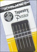 John James Size #22 Tapestry Petite Needle blunt tip needlepoint canvaswork - $3.00