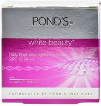 Pond's White Beauty Daily Spot-less Lightening Cream, SPF15 PA ++ , 50gm - $8.36