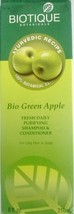 Biotique Botanicals Bio Green Apple Daily Purifying Shampoo & Conditioner 120ml - $6.97