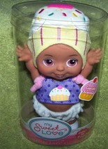 """My Sweet Love Mini Baby Doll in Cupcake Hat 5.5""""H Scented Sweeties New - $8.88"""