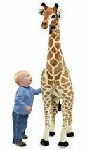 Melissa & Doug Giraffe Plush Stuffed Animal 2106 Huge Big Tall Kids Toy ... - $117.59