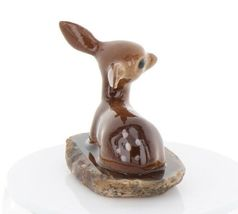 Hagen Renaker Miniature Tiny Deer Baby on Base Stepping Stones #2757 image 7