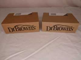 2 Boxes Dr. Brown's Level 2 Wide Neck Bottle Nipples 6 Per Box -- 12 Cou... - $20.95