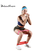 5Pcs/Set Fitness Elastic Exercise Bands gym Resistance Bands - $31.39