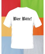 Beer Please in German Beer T Shirt Pick Size Color S M L XL 2XL 3XL 4XL 5XL - $17.49+