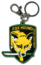 Metal Gear Solid Fox Hound Emblem PVC Key Chain GE4931 *NEW* - $24.99