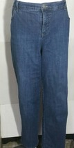Style & Co Jeans Denim Pants Straight Leg Stretch Size 18WP Plus Petite - $14.84