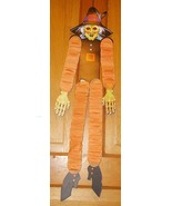 Vintage Halloween Beistle honeycomb Paper Dancer Witch -B - $9.95