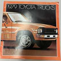 1979 Toyota Pickup Truck Original Sales Brochure Catalog  - $14.01