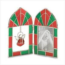Angel Stained Glass Frame  - £6.14 GBP
