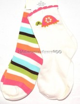 Gymboree Growing Flowers socks sz 8 and up Fits... - $10.39