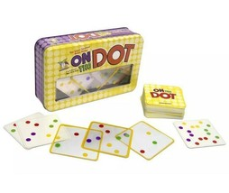 Gamewright Cardgame On the Dot Box Brain Teaser Spots Pattern New Sealed - $14.95