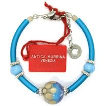 BRACELET ANTICA MURRINA VENEZIA,BR718A07,LIGHT BLUE,SPHERE POLKA DOT,SEMI-RIGID image 2