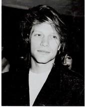 Bon Jovi John P Vintage 11X14 BW Music Memorabilia Photo - $12.95