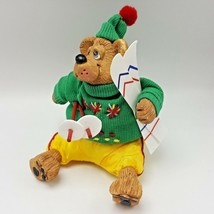 Russ Berrie Kathleen Kelly Mogul Ski Bear Country Folks Critters Figure ... - $12.99