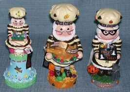 Hershey Collectibles-Spring Bell / Candy Dish, Thanksgiving, Halloween Figurines image 5