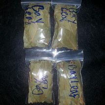 Four 2x3 bags bay leaf metaphysical supply pagan witchy oil making wishes - $20.00