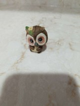 "Vintage George good owl 1975 figure home décor animals Miniature 1 1/2"" - $2.00"