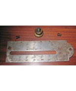 Demorest Sewing Machine Vibrating Shuttle Stitch Length Cover Plate &Thu... - $10.00