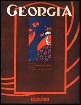 Georgia [Sheet music] by Donaldson, Walter (Music) / Johmson, Walter (Lyrics) - $3.60