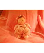 CUTE Carter's Brunette Pink Polka Dot Bunny Slippers Butterfly Plush Lov... - $14.95