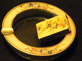 Collectible Ashtray with Matching Match Box - $12.50