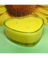Sunflower Heart Container Candle - $12.50