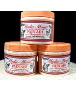 Set Of 3 Jars 4 oz Raymac Medic-moist Emu-oil Pain Aid Cream - $44.95