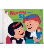 NANCY & SLUGGO PAPER DOLLS--1974--UNUSED--SCARCE - $15.00
