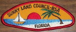 BSA Sunny Land Council FL Shoulder Patch - $5.00