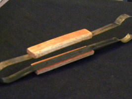 Collectible Wooden & medal tongs - $5.00
