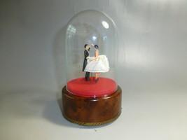 EXCELLENT VINTAGE REUGE DOUBLE DANCING BALLERINA MUSIC BOX RESTORED ( WA... - $375.00