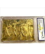 The Beatles Gold Plated Abbey Road Trading Card Ltd Edition - $14.99
