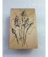 Stampendous Wood Stamps: Sketchbook Leaves #M132 - $0.99