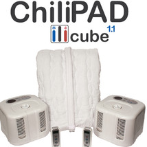 Split California King ChiliPAD™Heating/Cooling Mattress Pad, Temp Contro... - $629.00