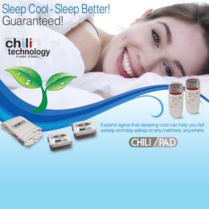 Single ChiliPAD™Heating/Cooling Mattress Pad, Temp Controlled, Chili Technology™