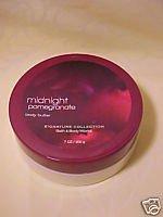 Midnight pomegranate butter