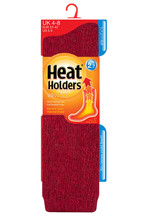 Heat Holders - Womens Thick Winter LONG Wool Knee High Thermal Socks 6 C... - £19.52 GBP