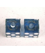 Ceaser's Palace Atlantic City Craps Dice Matching Numbers Drilled - $18.67