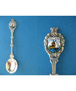 HOLLAND Souvenir Collector Spoon Dezet 90 Collectible SAILBOAT WINDMILL  - $6.95